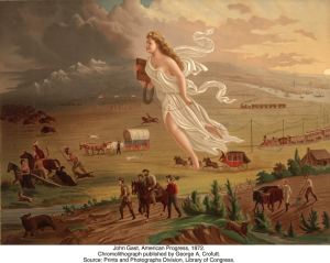 american progress 1872